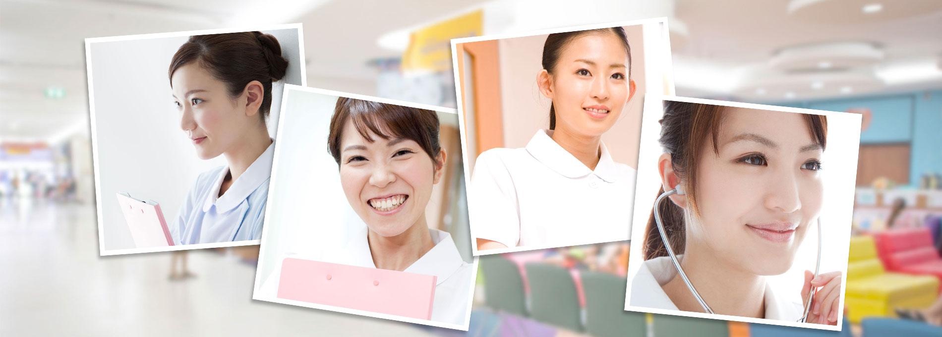 クリニックに働く看護師たち